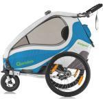 Qeridoo Bezug komplett für Fahrradanhänger ab 2017 - KidGoo1 blue