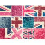 queence Fliesenaufkleber England bunt Wandtattoos und Wandsticker Wohnaccessoires
