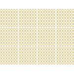 queence Fliesenaufkleber Muster goldfarben Wandtattoos und Wandsticker Wohnaccessoires