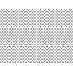 queence Fliesenaufkleber »Muster« (Set, 12 Stück), grau, grau