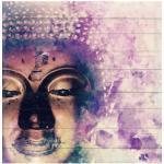 Reduzierte Lila Romantische Queence Buddha Bilder mit Buddha-Motiv