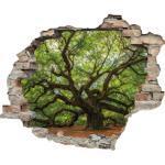 queence Wandtattoo Baum beige Wandtattoos Natur und Wandsticker Wohnaccessoires