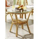 Rattan-Garnitur in verschiedenen Ausführungen Tisch Honigfarben