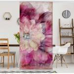 Raumteiler Grunge Flower
