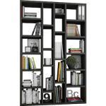 Raumteilerregal TOR391-6 braun Bücherwände Bücherregale Regale