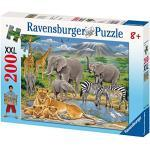 Ravensburger 12736 - Tiere in Afrika - 200 Teile XXL Puzzle