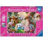 RAVENSBURGER 13617 Kinder-Puzzle Im Reich der Blütenkönigin