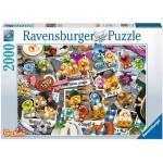 RAVENSBURGER 16014 Puzzle Gelini auf dem Oktoberfest 2000 Teile