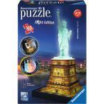 RAVENSBURGER Freiheitsstatue bei Nacht 3D Puzzle, Mehrfarbig