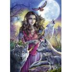 RAVENSBURGER Patronin der Wölfe Puzzle, Mehrfarbig