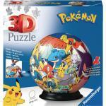 RAVENSBURGER Pokémon 3D Puzzle, Mehrfarbig