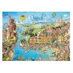 Ravensburger Puzzle 14149 - Bella Italia [500 Teile] (Sehr gut neuwertiger Zustand / mindestens 1 JAHR GARANTIE)