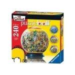 Ravensburger Puzzleball 11051 - Die Simpsons [240 Teile] (Sehr gut neuwertiger Zustand / mindestens 1 JAHR GARANTIE)
