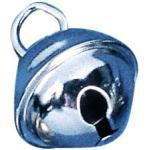 Rayher 2503221 Metallglöckchen (kugelförmig), SB-Btl. 10 Stück, platin