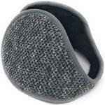 Realkontor Ohrenwärmer mit Innenfell Ohrenschützer Modell: Ohrenschmeichler, anthrazit, Einheitsgröße