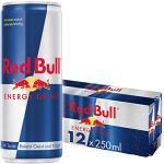 Red Bull Energy Drink Dosen Getränke 12er Palette, EINWEG (12 x 250 ml)