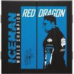 Red Dragon Gerwyn Price Dartboard Cabinet