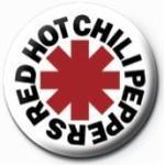Red Hot Chili Peppers - Logo - Buttons -