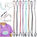 REDESS multifunktionales Brillenband, unisex, Maskenband, Anti-Verlust-Maskenband, geeignet für Männer, Frauen, Kinder, ältere Menschen - Schwarz - Einheitsgröße