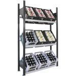 Schulte Lagertechnik Getränkekistenregale & Kastenregale Breite 100-150cm, Höhe 100-150cm, Tiefe 100-150cm