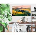 Reinders Holzbild »Deco Block 70x118 Tuscan Valley«, beige