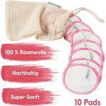 Reinigungspads Gesicht - waschbare Alternative für Wattepads