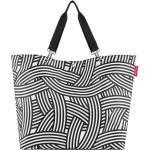 reisenthel shopper XL zebra 35 Liter - Zebra Schwarz