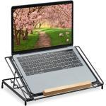 relaxdays »Laptop Ständer 13 Zoll schwarz« Laptop-Ständer