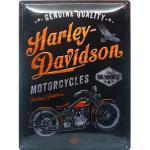 Retro Blechschild Harley Davidson Maße: 30x40cm