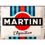 Retro Blechschild Martini Maße: 40x30cm