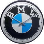 Retro Wand- Uhr BMW Logo Durchmesser: 31cm