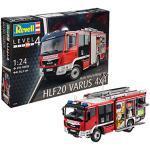 Revell 80-7452 Modellbausatz LKW 1:24 - Feuerwehr MAN TGM / Schlingmann HLF 20 VARUS 4x4 im Maßstab 1:24, Level 4, originalgetreue Nachbildung mit vielen Details, Truck, 7452