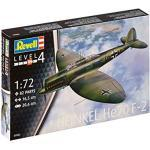 Revell Modellbausatz Flugzeug 1:72 - Heinkel He70 F-2 im Maßstab 1:72, Level 4, originalgetreue Nachbildung mit vielen Details, 03962