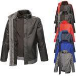 RG151 Regatta Men's Contrast Softshell Jacket 3in1