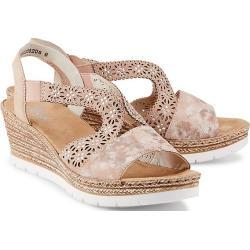 Rieker Keil-Sandalette rosa Damen