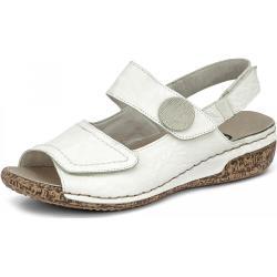 Rieker Sandale - Damen - weiß, jetzt im Angebot