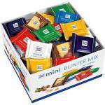 Ritter-Sport Minischokolade Mini Bunter Mix, Vorratsbox, sortiert, 84 Stück