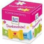 Ritter-Sport Minischokolade Schokowürfel, Dankeschön, sortiert, 22 Stück