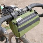 Road Runner Bags Burrito Supreme oliv Handlebar Bag Frontloader Lenkertasche