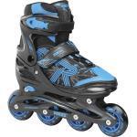 Roces Inlineskates »Jokey 3.0 Boy Kinderinliner größenverstellbar«, schwarz, black/astro blue