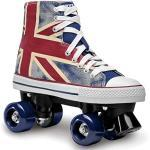 Roces Kinder Chuck Classic Roller Rollerskates/Rollschuhe Street, Union Jack, 37