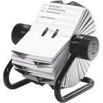 Rollkartei »Telindex Rotationskartei« schwarz, Durable, 21.5x12x18.5 cm