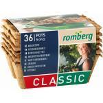Romberg 36 Anzuchttöpfe 5 cm - 6 Strips à 6 Töpfe - 1 Pkg