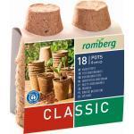 Romberg Classic 18 Anzuchttöpfe - 18 Stück