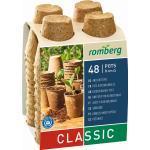 Romberg Classic 48 Anzuchttöpfe ECONOMY PACK - 48 Stück