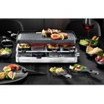 Rommelsbacher 3-in-1 Raclette RC 1400, Raclette, Tischgrill und Crêperie