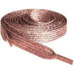 Rose Gold Glitter Laces Shoelaces Ideal For Converse Vans Nike Addidas Reebok Puma Trainers, Sneakers Doc Dr Marten Boots