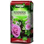 Rosenerde Plantop 45 Liter NEU Blumenerde Rosen-Erde Gärtnerqualität aus Bayern