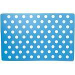 Rosewood 06008 Napfunterlage mit Tupfendesign für Hunde, blau