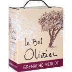 Rotwein trocken Grenache & Merlot Frankreich 2020 Saint Chinian Olivier IGP 3 l Bag in Box